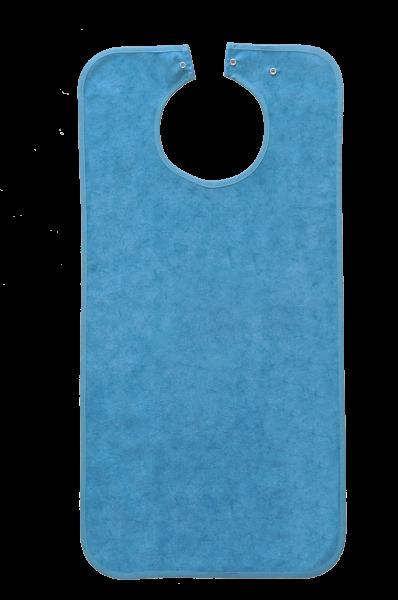 Suprima Ess-Schürze Polyester mit Druckknopfverschluss, batikblau