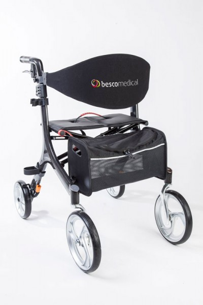 Besco Medical Rollator Carbon