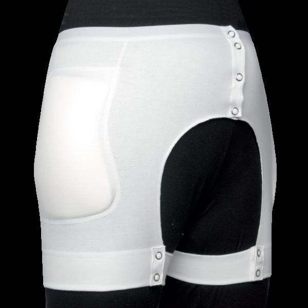 suprima Protektor-Slip mit integrierten Protektoren, knöpfbar
