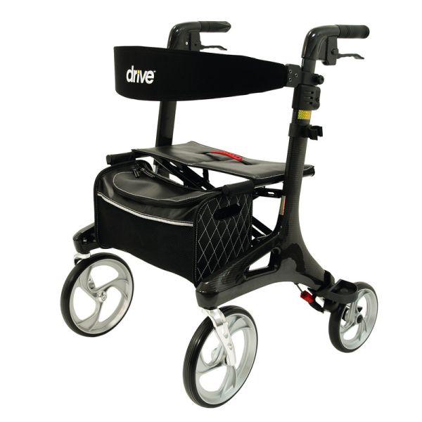Drive Medical Rollator Nitro Carbon