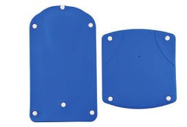Dietz Badewannenlift Kanjo Sitzbezug blau