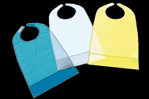 Suprima Ess-Schürze PVC, mit Auffang und Klettverschluss