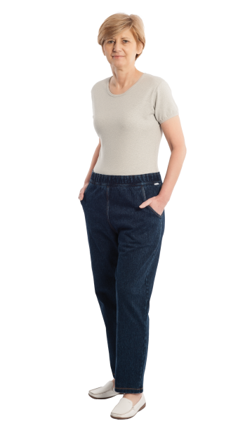 CareActive Pflegeoverall Jeans