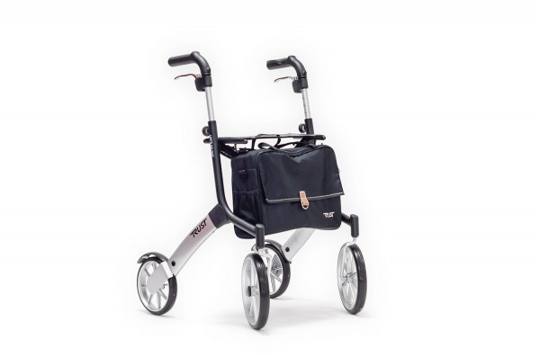 Trust Care Rollator Lets go out schwarz silber