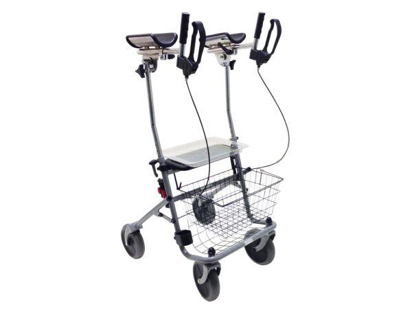 Drive Medical Rollator Cristallo mit Unterarmauflagen