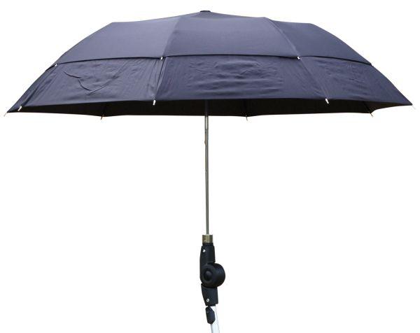 Rehasense Regenschirm inkl. Standardhalter für Rollator, schwarz