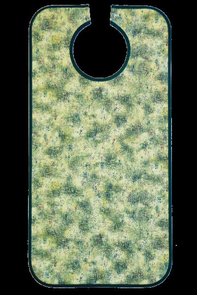 Suprima Ess-Schürze Polyester mit Druckknopfverschluss, grün